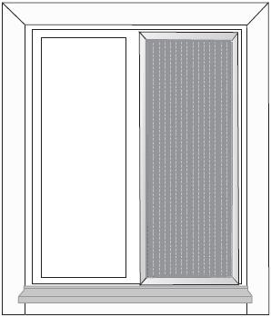 nät till myggfönster